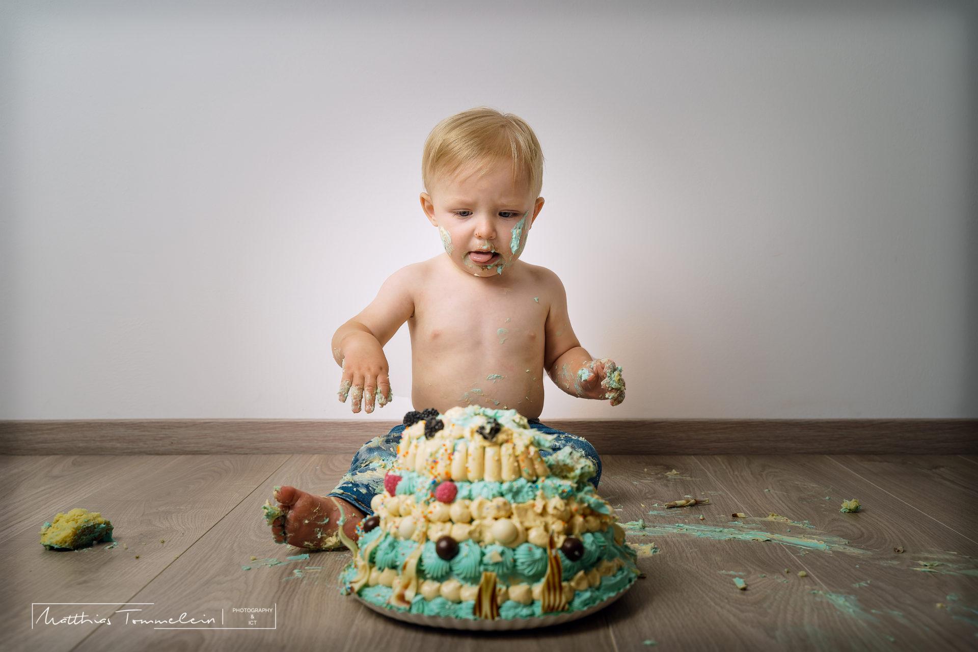 Cake smash Maurice